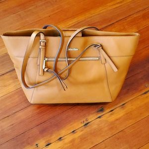 🎈CLEARANCE🎈Calvin Klein Large Faux Leather Tote